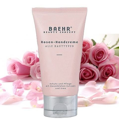 BAEHR Beauty Concept Rosen Handcreme mit Urea 75 ml