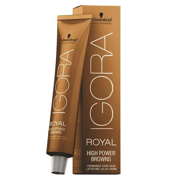 Schwarzkopf Igora Royal High Power Browns 60 ml B-8 Braun Rot