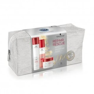 Schwarzkopf BC Bonacure Peptide Repair Rescue X-MAS Geschenkset Shampoo + Spray Conditioner + Treatment
