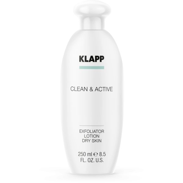 Klapp Clean & Active Exfoliator Dry Skin 250 ml