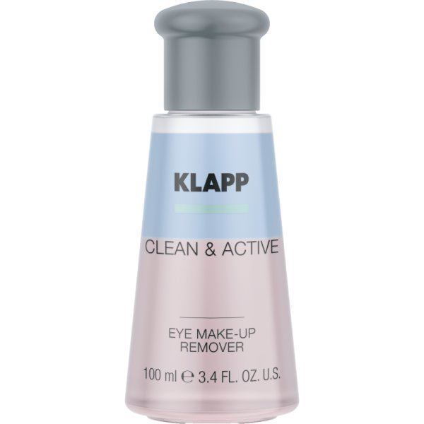 Klapp Clean & Active Eye Make up Remover 100 ml