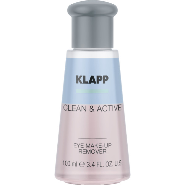 Klapp Clean & Active EYE MAKE-UP REMOVER 100 ml