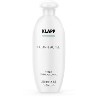 Klapp Clean & Active Tonic with Alcohol 250ml